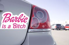 Stick Funny 😜😜 Retrouvez le ici: https://zonestickers.fr/-sticker-voiture-barbie-is-a-bitch-1775  #StickFunny #ZoneStickers #sticker #autocollant #fun #Funny #drôle #humour #barbie #Bitch #vaisonlaromaine