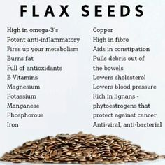 Flax seeds. Just bought some today and have to figure out where and how to use them.