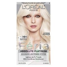 L'Oreal Feria Absolute Platinum Hair Color - Extreme Platinum