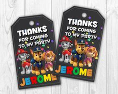Hey, I found this really awesome Etsy listing at https://www.etsy.com/listing/497535643/paw-patrol-favor-tags-paw-patrol-goodie