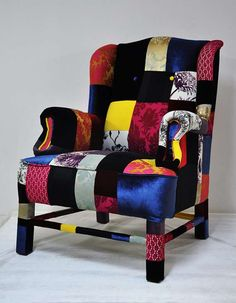 The Patchwork Sofas are Eclectically Fabulous and Stylish #livingroom #homedecor trendhunter.com