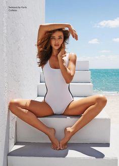 Miranda Kerr by Mariano Vivanco for Net-A-Porter Magazine June 2013