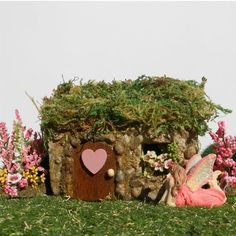 Miniature Garden Fairy House The Sweetheart