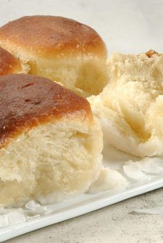 Pani Popo  Samoan Coconut Buns Recipe
