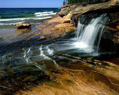 Love swimming here! Miners Beach Lake Superior Pictured Rocks National Lakeshore Michigan