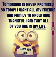 Thankful to my friends and family! <3 :)