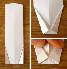 money origami shirt and tie step 11