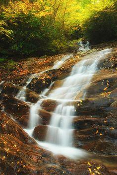 Appalachian mountains Waterfall