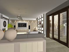 Living Styles: Modern Rustic Interior Design