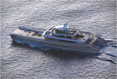 Manifesto is a spectacular 234ft(71m) catamaran mega yacht, designed by French-based naval architects and designers - VPLP Design. The beautiful vessel is elegantly styled and features an ultra-open layout offering great views and private places, it