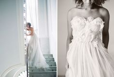 Samuelle Couture in Italian Bridal Inspiration for Green Wedding Shoes