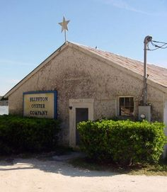 Bluffton Oyster Company - Bluffton South Carolina SC located on the May River. The oldest oyster factory in the state.