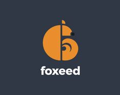 Foxeed Logo design - This logo is a minimal, symmetric illustration of a fox. Actually it can be used for any companies which uses fox in their name or simply love foxes. Price $350.00
