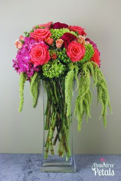Cascades of Color Bouquet - Local Delivery Only
