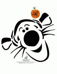 Disney's Tigger Pumpkin Pattern Here are over 30 free Disney pumpkin stencils from Woo! We can't think of a better way for Disney lovers to celebrate Halloween than by carving a pumpkin with a Disney character! Plus Pixar pumpkins added in Disney Pumpkin Carving Patterns, Disney Pumpkin Stencils, Halloween Pumpkin Carving Stencils, Scary Pumpkin Carving, Scary Halloween Pumpkins, Disney Stencils, Pumpkin Patterns, Pumpkin Designs, Carving Pumpkins