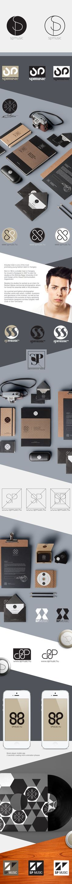 SP Logo / Identity ideas on Behance