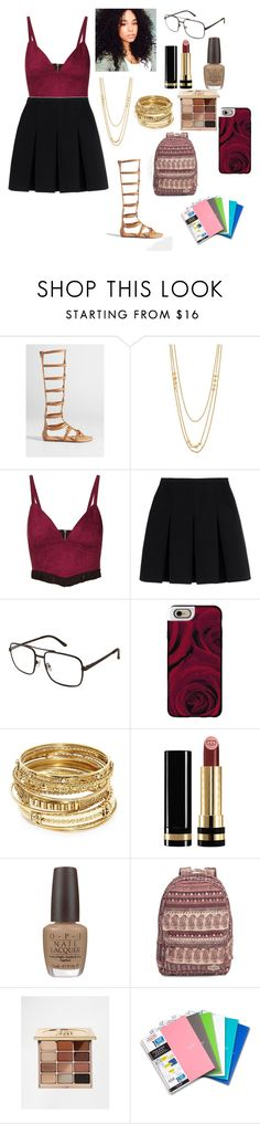 """School Ready"" by kelvionne ❤ liked on Polyvore featuring maurices, Gorjana, Topshop, Alexander Wang, GANT, Casetify, ABS by Allen Schwartz, Gucci, OPI and Billabong"