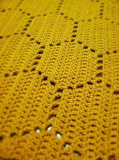 Honeycomb Blanket ~ $$ pattern