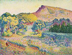 HENRI-EDMOND CROSS .....5/5/1856 -5/16/1910 ...Oil on canvas / 90,3 x 116,9  ... (1906)