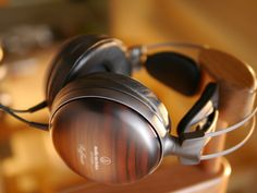 "Audio Technica ATH \W-5000: Often described as having a ""woody"" sound. Wonder why."