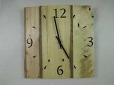 DIY Wooden Pallet Wall Clock