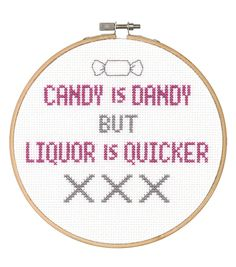 Say It! in cross stitch-Candy