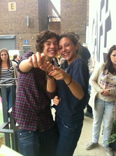 My life would be complete if I got a picture with Harry like this. Don't know why, but it would.