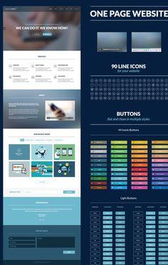 Mobile web design vector material