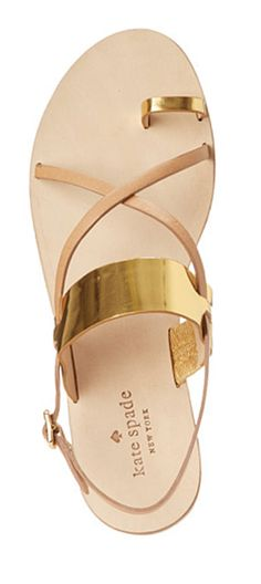 great kate spade strappy sandals go with anything colorful and summery! My #TSL Dream Recruitment Closet