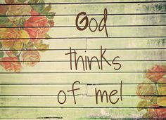 for i know the thoughts i think toward you   God Give Me Peace