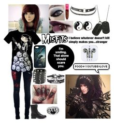 """""""Hanging with Social Repose (Richie)"""" by emmcg915 ❤ liked on Polyvore featuring Jeffree Star and Charlotte Russe"""