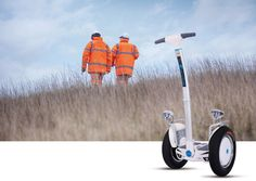 #Airwheel S5 SUV big two wheel #scooter popular among firemen