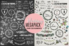 Check out Wedding Illustrations Megapack by Lemonade Pixel on Creative Market
