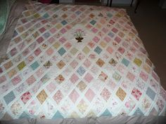 Sue in Australia is making a beautiful Jane Austen quilt using the Inklingo Jane Austen Patchwork collection. She has just finished putting the centre together.