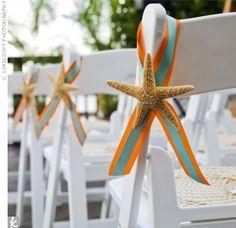 Wedding aisle chair hangers