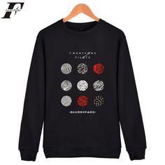 LUCKYFRIDAYF Twenty One Pilots Hoodies Men Harajuku Hip Hop Pullover Oversized Hoodie Autumn Winter Flecee Sweatshirt Sudaderas