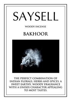 Bakhoor Woody 20 Incense Joss Sticks Agarbatti by Saysell #Saysell #Woody
