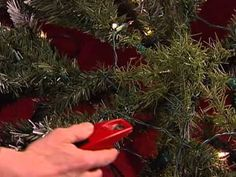 Pre Lit Tree Repair Video Mobile - YouTube