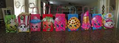 Shopkins Party Bags Shopkins Goody Bags by GlitterChickParty