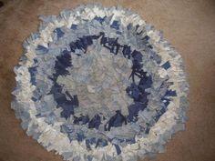 Image Detail for - Hand made rag rug