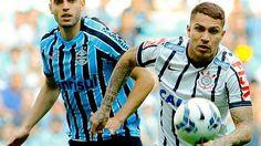 Corinthians de Paolo Guerrero y el colombiano Once Caldas protagonizarán este miércoles en Sao Paulo un duelo entre campeones de la Copa Libertadores, en el que solo uno de los dos avanzará a la fase de grupos del torneo americano. Febrero 03, 2015.