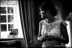 Kate ready to marry Robert at Farnham Castle - more on th blog -