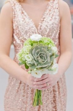 Wedding Bouquets | Succulents