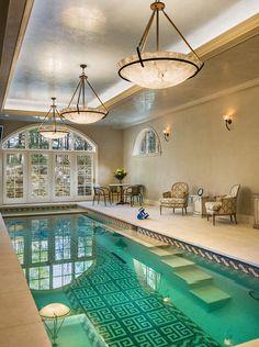 garten-mit-pool-beistelltisch-luxus-modern   dekoration, Best garten ideen