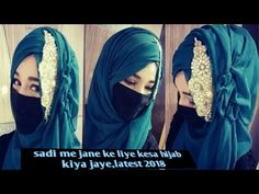 1486080a6 Hijab style with dress accessories/side hijab style for going wedding in 3  min,,latest hijab 2018