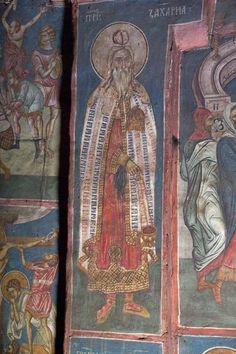 The Visoki Dečani monastery, Kosovo, c. Byzantine Icons, Fresco, Pet Birds, Saints, Painting, Old Testament, Fresh, Painting Art, Paintings