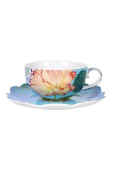 Filiżanka na herbatę ze spodkiem Royal - PIP STUDIO la bambetle