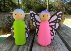 Butterfly Garden Fairies from Just a Little Creativity {contributor}