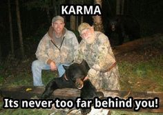 Karma is a real pain, you guys... Check out the entire gallery!
