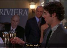 In vino veritas 1x21 #theOC